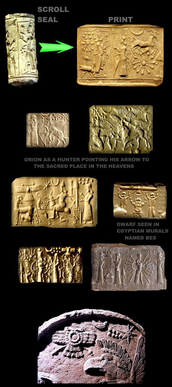 star map Pleiades Sumerian