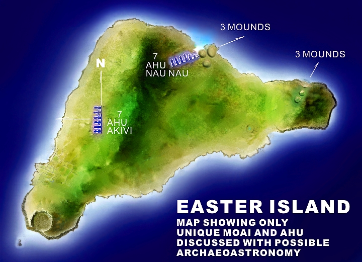 Wayne Herschel Author The Hidden Records Discovered - Easter island map
